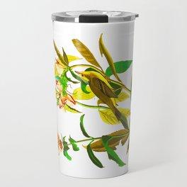 Green Black-capt Flycatcher Travel Mug