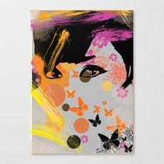 Audrey again Canvas Print