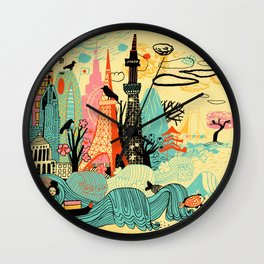 Tokyo in Japan Wall Clock