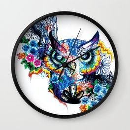 MR. HOOTINGTON Wall Clock