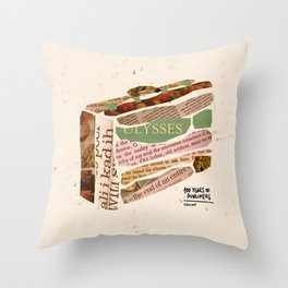 Eveline - 100 Years of Dubliners Throw Pillow