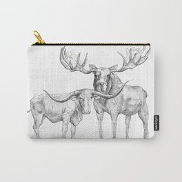 Longhorn and Moose Carry-All Pouch