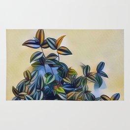 flower leavs Rug