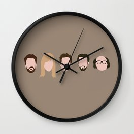 The Gang (It's Always Sunny) Wall Clock