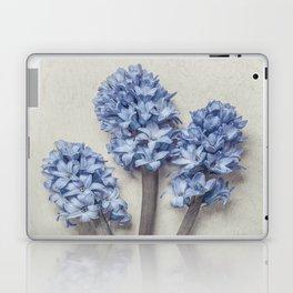 Light Blue Hyacinths Laptop & iPad Skin
