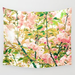 Spring Blossoms (1) Wall Tapestry