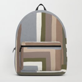 Abstract Neutrals III Backpack