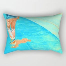 Electric Skater Rectangular Pillow