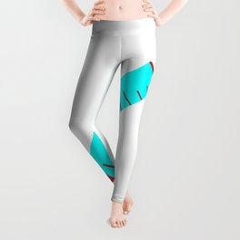 Simple Cartoon Style Hypodermic Needle Leggings
