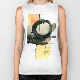 Enso Abstraction No. 107 by Kathy Morton Stanion Biker Tank
