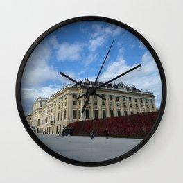 Vienna Schonbrunn Colors Wall Clock