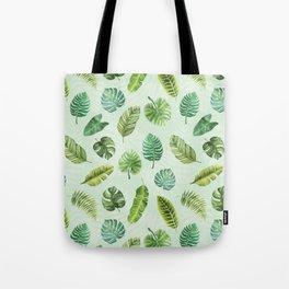 Tropic Like It's Hot Print Tote Bag