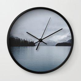Landscape Lake Mirror Wall Clock