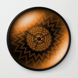 Sacral Orange   Chakra Wall Clock