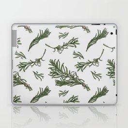 Rosemary rustic pattern Laptop & iPad Skin
