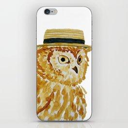 Dapper Owl or Owl Capone? iPhone Skin