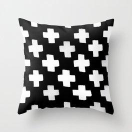 Criss Cross Pattern Throw Pillow