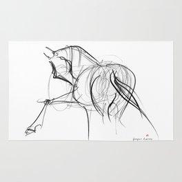 Horse (Ballet dancer) Rug