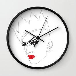 Sasha Velour Wall Clock