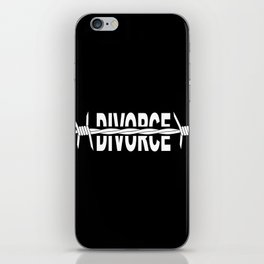 Divoeced iPhone Skin