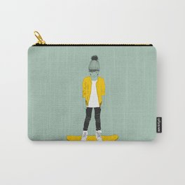 Skater Kid Carry-All Pouch