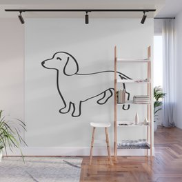 Doxie Love Wall Mural