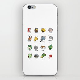 Hotline Kawaii iPhone Skin