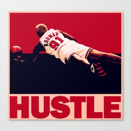 The Worm: Hustle Canvas Print