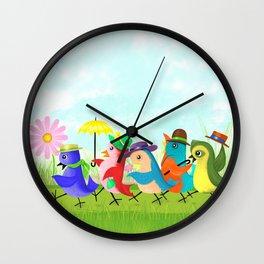 May Day Parade Wall Clock
