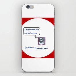 """""""Willshakespeare"""" TNT iPhone Skin"""