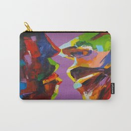Four Faces Carry-All Pouch