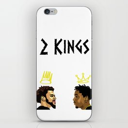 2 Kings. Kendrick Cole iPhone Skin