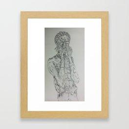 The HARP Framed Art Print