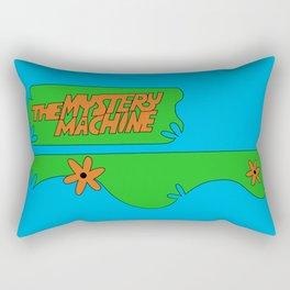 Mystery Machine Rectangular Pillow