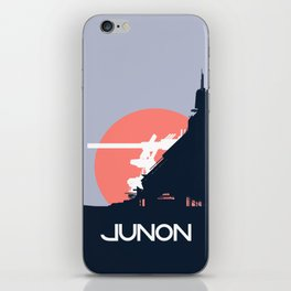 Final Fantasy VII - Visit Junon Propaganda Poster iPhone Skin