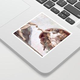 The Creation Of Adam Sticker