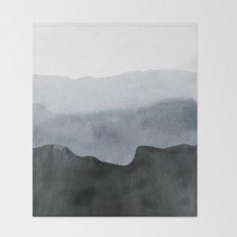 mountain horizon 2 Throw Blanket
