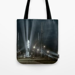 Why Do Rockets Launch At Night Tote Bag