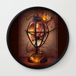 The Dragon Lantern Wall Clock