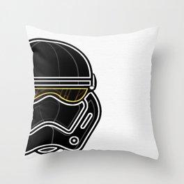 Trooper With Attitude Throw Pillow