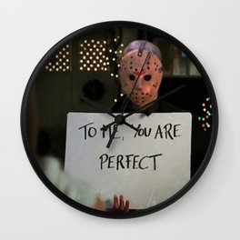 JASON VORHEES IN LOVE ACTUALLY Wall Clock