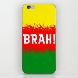 Jamaican Design 2 - brah iPhone Skin