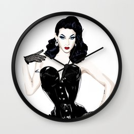 Violet Chachki, RuPaul' Drag Race Queen Wall Clock
