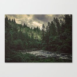 Pacific Northwest River - Nature Photography Canvas Print