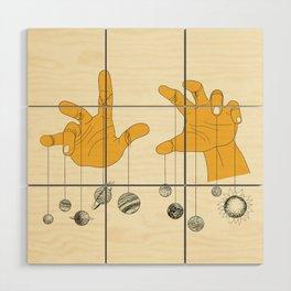 Solar System Wood Wall Art