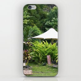Fruit Stand in Tropical French Polynesia iPhone Skin