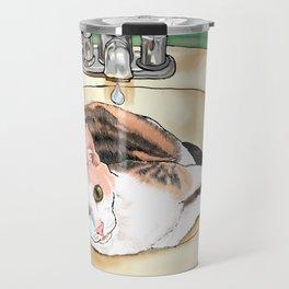 Catrina in the Sink Travel Mug