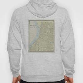 Vintage Map of Memphis Tennessee (1901) Hoody