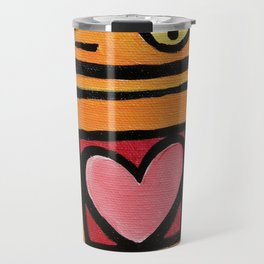 Robot - This Is Wobbly Love Travel Mug