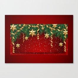 Christmas shopwindow Canvas Print